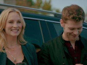 Klaus and Caroline in the Originals