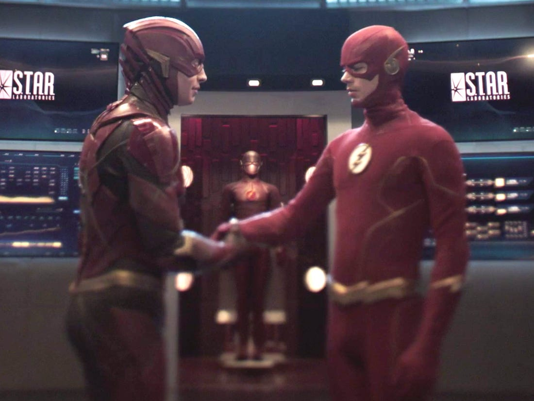 The Flash Movie: Grant Gustin Might Have A Cameo