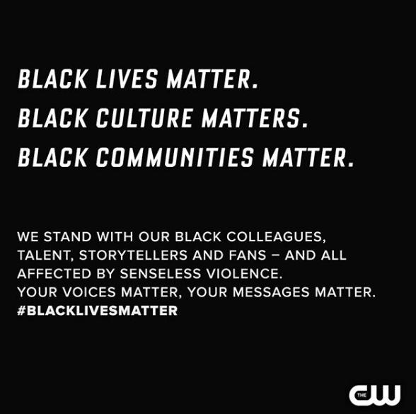 Black Lives Matter CW Stars