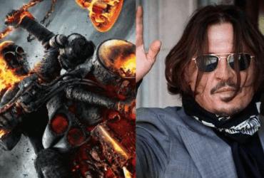 Johnny Depp as Ghost Rider