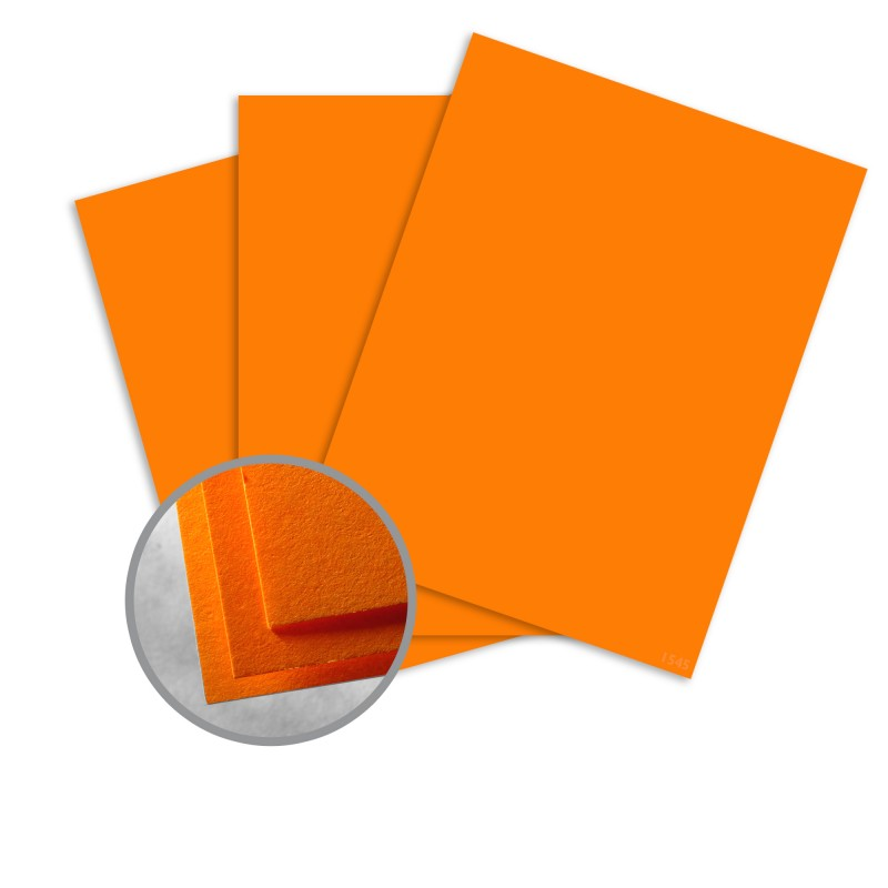 orange card stock orange