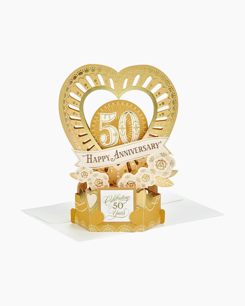 Hallmark Hallmark Celebrate The Years Pop Up 50th