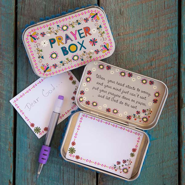 Natural Life Flower Prayer Box The Paper Store