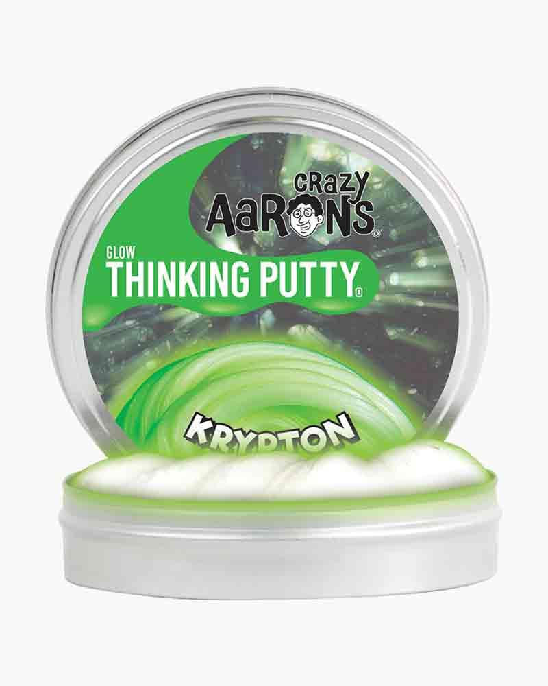 Crazy Aaron Krypton Glow Thinking Putty The Paper Store