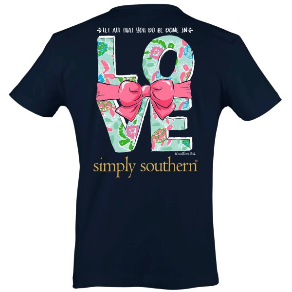 Simply Southern Women' In Love Short Sleeve Tee