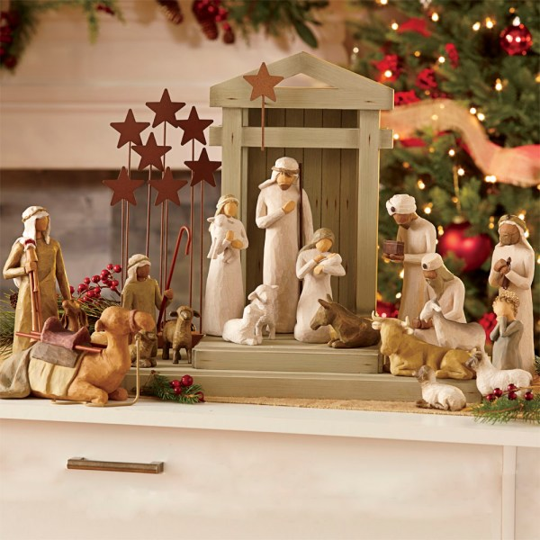 Willow Tree Figurines Angels & Nativity Set Paper