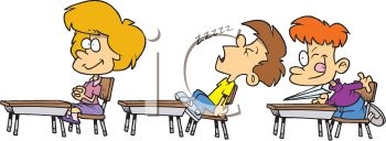 Boy_Sleeping_in_Class_clipart_image