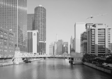 Chicago River Clark Street Bascule Bridge