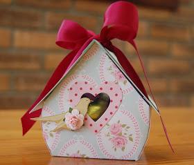 birdhouse card box template