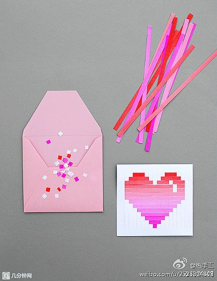 woven heart valentines card tutorial