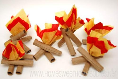 paper campfires