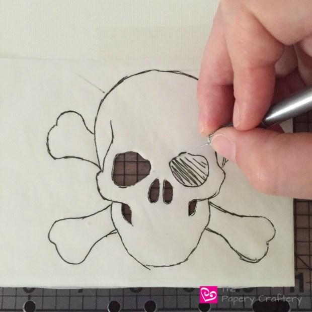 skullcuttingbackingpaper