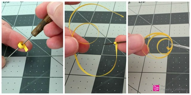 how to make a quilled sun yellow paper - How to use quilling for scrapbooking