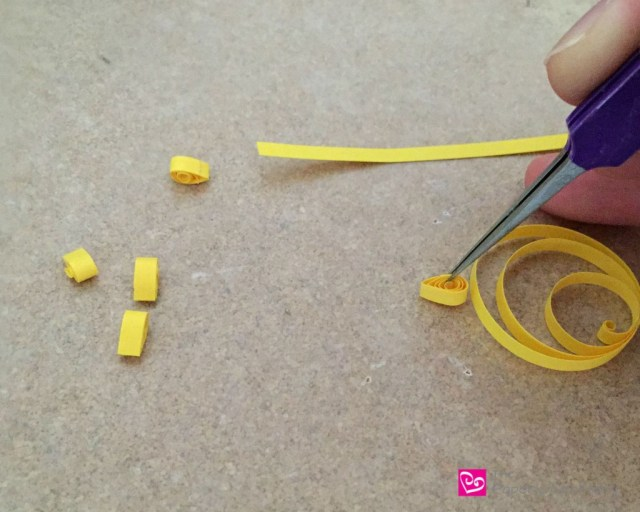 yellow sun quilling - How to use quilling for scrapbooking