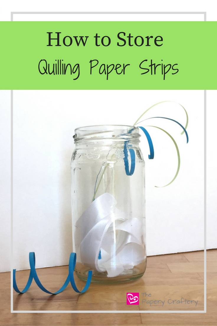 A round-up of unique and resourceful ways to store your quilling paper, found across the web || www.thepaperycraftery.com