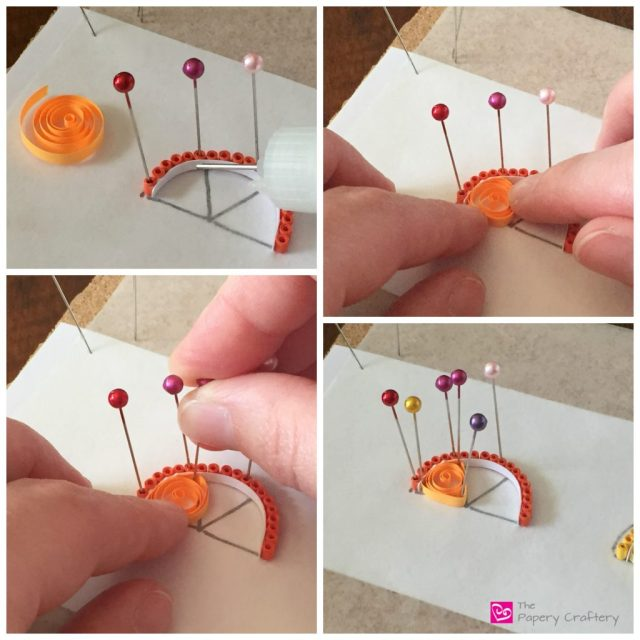 PaperCitrusOrange How to Make Quilling Paper Citrus Slices