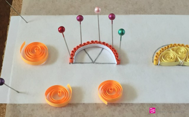 PaperOrangeSlice How to Make Quilling Paper Citrus Slices