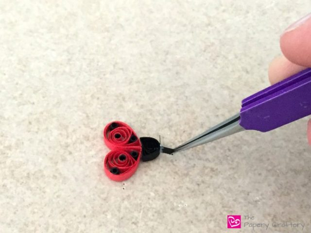 Quilling Ladybug - Quilling Paper Ladybugs