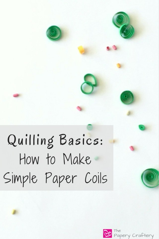 How to create quilling paper coils for the beginner quilling artist