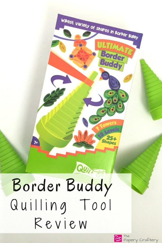 Border Buddy Quilling Tool Review ~ Do you need to pick up a Border Buddy for your quilling? I'll test it out and let you know! www.ThePaperyCraftery.com