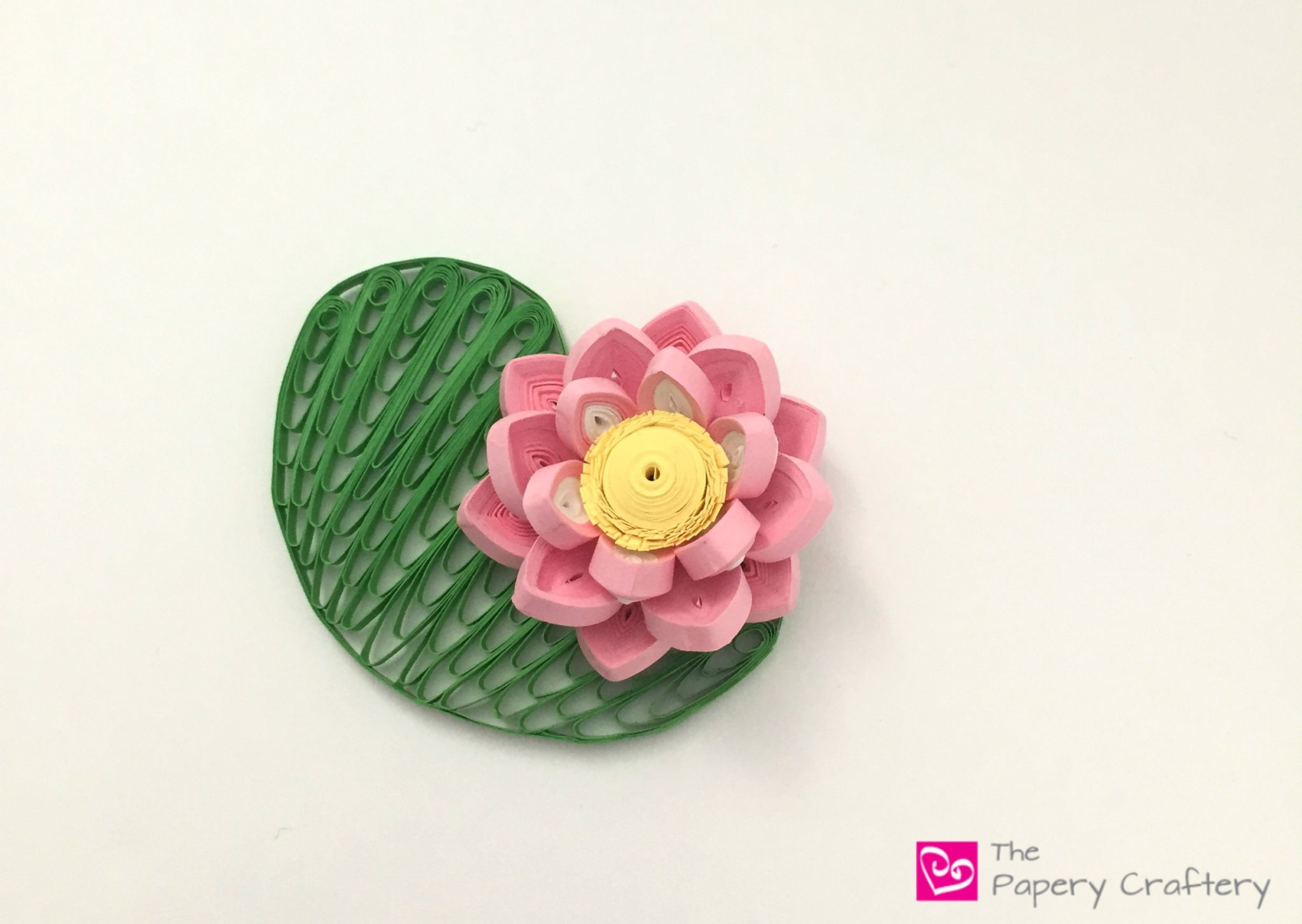 How to make water Lily with paper. - YouTube | 1454x2048