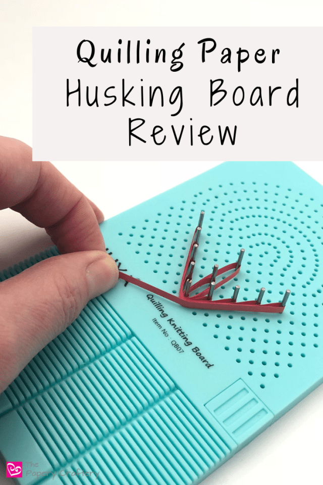 Quilling Paper Husking Board Review - Try out a new quilling tool to perfect your husking technique! | MeredithAmand.com