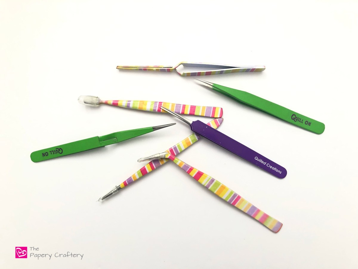 Quilling Paper Tweezers Review