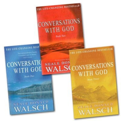 Neale Donald Walsch – Conversations with God Trilogy: 3 books Collection set (Book 1, Book 2, Book 3)