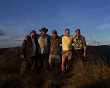 mande burung expedition research team