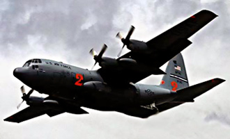 C-130 cargo aircraft - Supernatural event over Vietnam