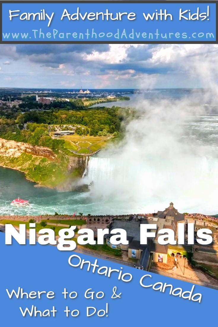 Niagara Falls Pin the Parenthood Adventures