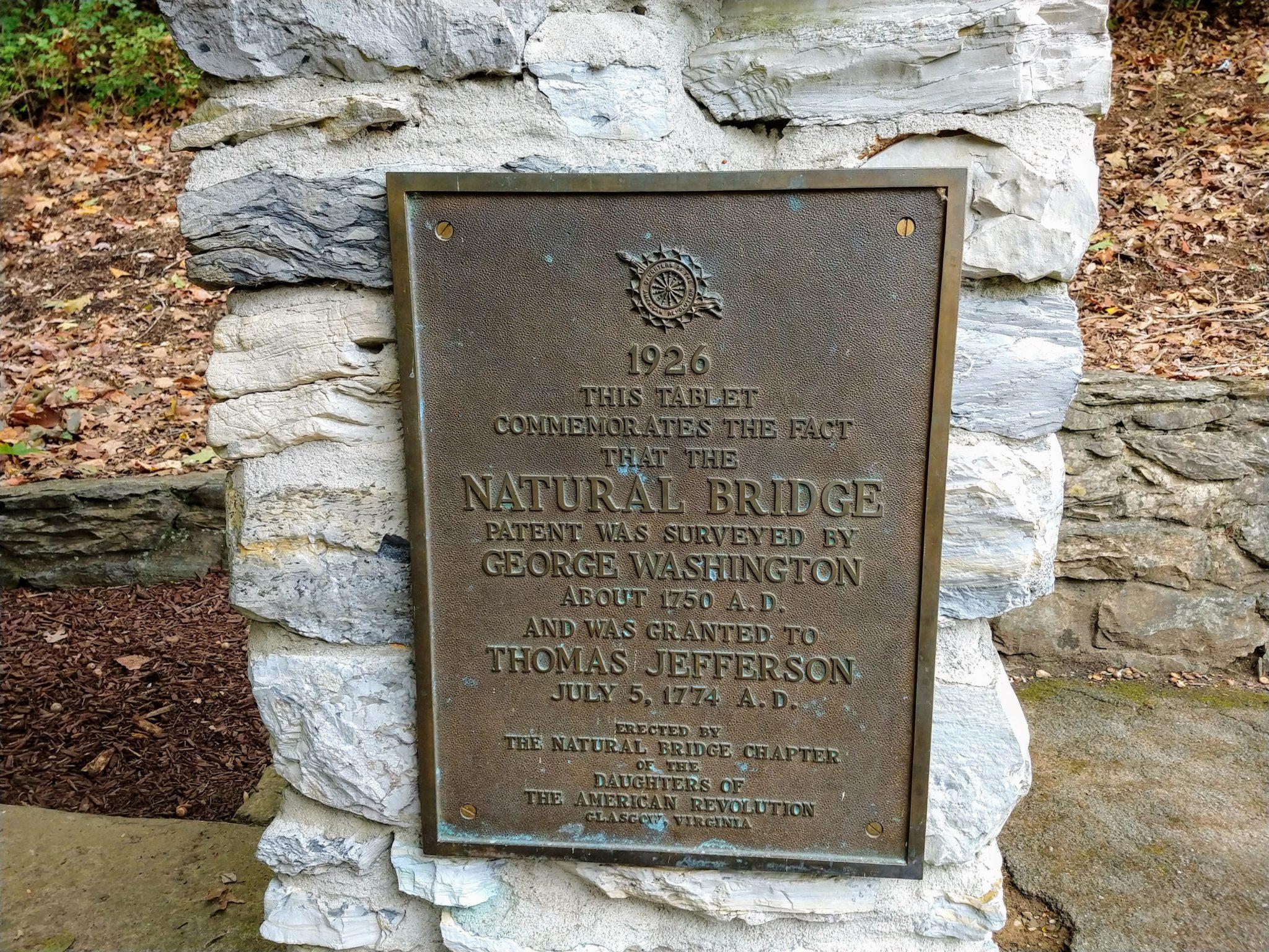 Natural Bridge State Park VA