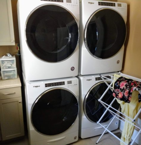2 Washer / 2 Dryer Home Laundry Room