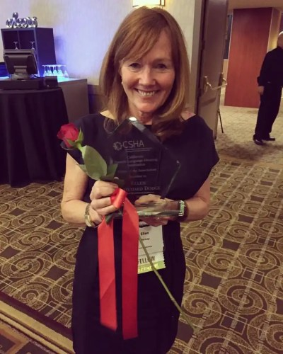 ellen dodge awarded csha award