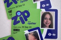 Zip oyster card