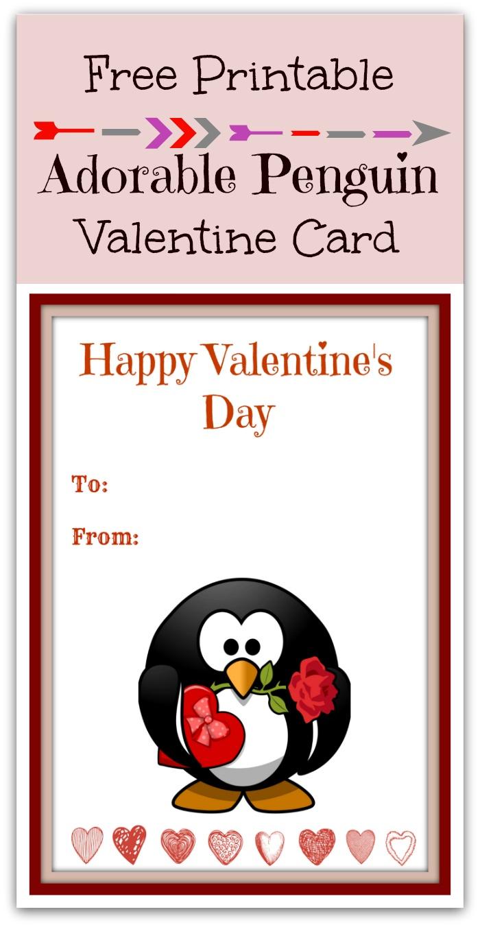 Valentines Day Penguin Valentine Gift Ideas