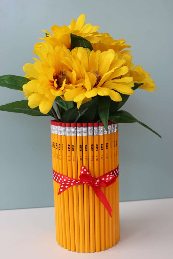 How to Make a DIY Pencil Vase Tutorial