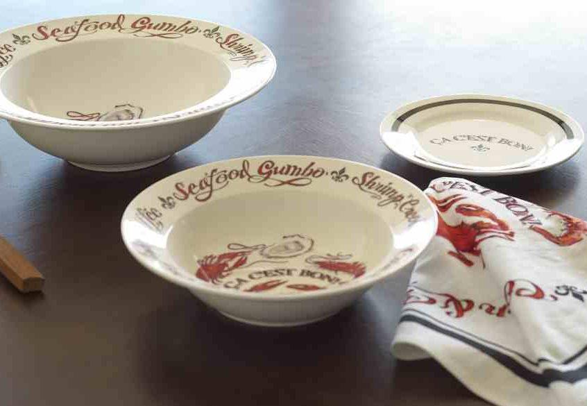 kitchen towels wholesale uniforms ca c'est bon gumbo bowl – the parish line