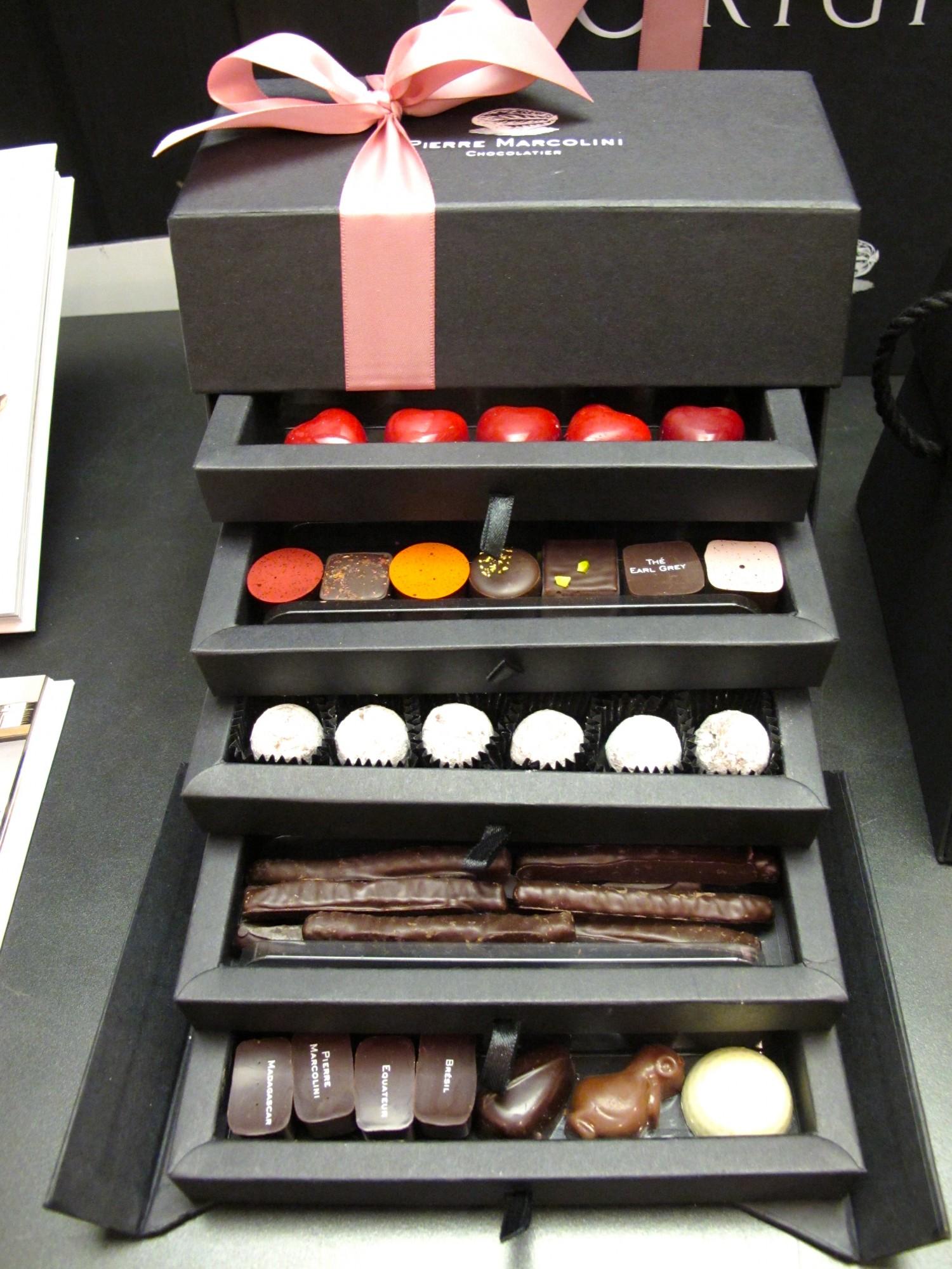 coffret chocolats Marcolini