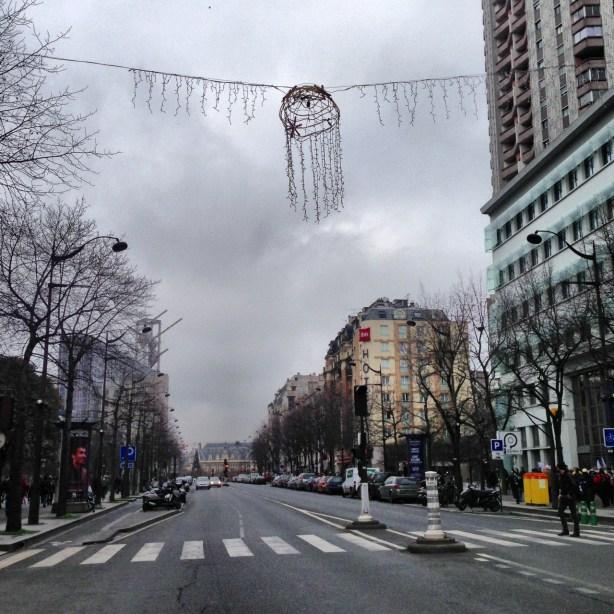 avenue d'Italie vide