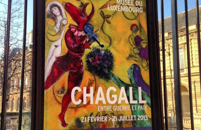 Chagall musée du Luxembourg