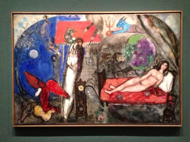 A ma femme - Chagall