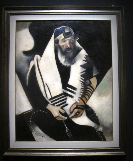 le rabbin - Chagall
