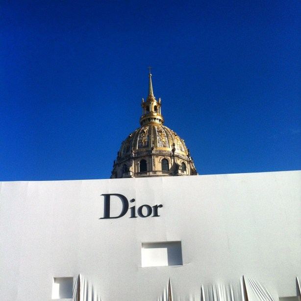 DIOR Invalides fashion week