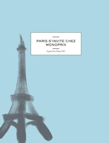 Paris s'invite chez Monoprix