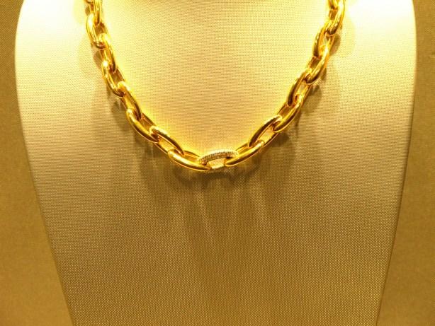 collier or diamants MATY