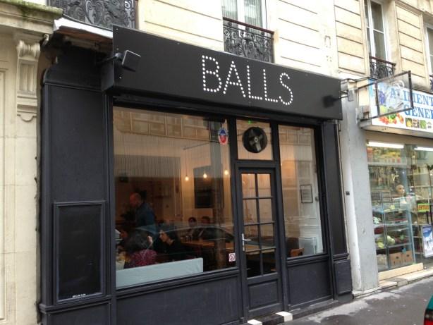 Balls restaurant