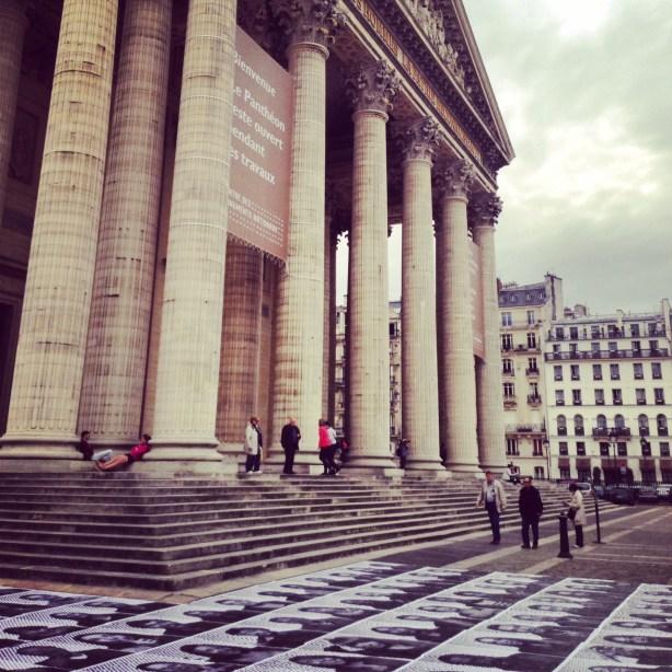 JR au Pantheon
