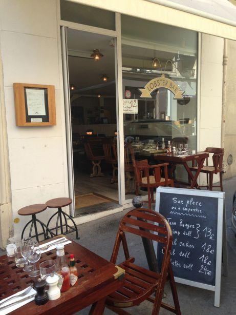 Lobster bar rue Coquillière