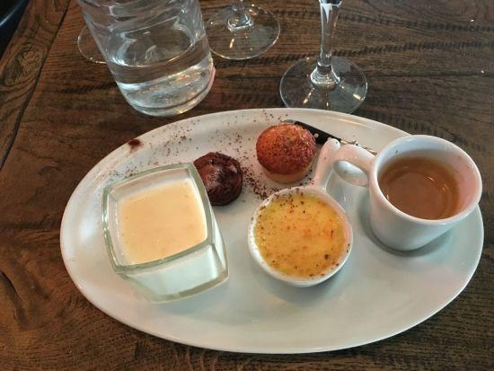 Maison Becquey - café gourmand